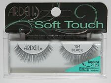 (LOT OF 40) Ardell Soft Touch Tapered Tip Lashes 154 Black