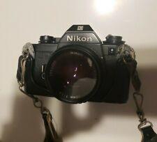 Nikon Em 35mm Slr Film & 50mm lense