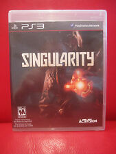 PS3 Singularity (Sony PlayStation 3, 2010) NEW Factory Sealed