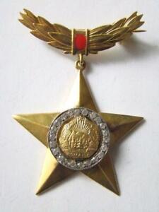 Romania Romanian Title HERO of Romania ! order , medal