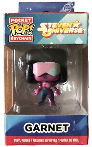 Steven Universe Garnet Funko Pocket Pop! Keychain Figure CIB Box Retired Vaulted
