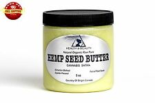 HEMP SEED BUTTER ORGANIC by H&B Oils Center EXPELLER PRESSED PURE 8 OZ