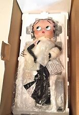 """DANBURY MINT LIMITED EDITION PORCELAIN  BETTY BOOP FIGURINE """"MINT IN THE BOX"""""""
