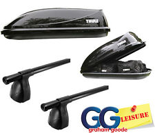 Roof Rack Bars & Thule Car Roof Top Box Carrier | BMW 1 Series Hatchback Coupe