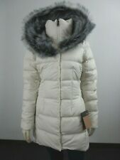 NWT Womens The North Face TNF Fur HD Down Parkina Parka Warm Winter Jacket White