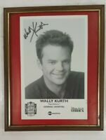 Wally Kurth 'Ned Ashton' General Hospital Disney-MGM Studios Autographed Framed