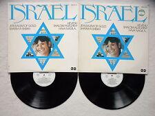 """2 LP JERUSALEM OF GOLD """"Israel"""" CARABINE 49.531/532 FRANCE §"""