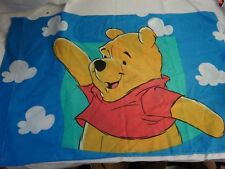 Vtg WINNIE The POOH PIGLET Novelty Bed  PILLOW CASE Standard Kids Room Decor