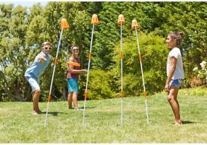 Frisbee Field Goal Outdoor Game Disc Flying Portable Backyard Sports Team Play