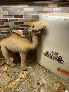 """Steiff Dromedar 35 Camel 14"""" inches 066948 NEW with Tags Button and Box"""