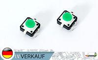 NEU! LED Druckknopf Tactile Button Switch Taster grün für Arduino Raspberry Pi