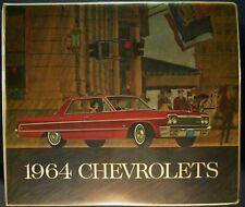 1964 Chevrolet Dealer Upholstery Album Impala Chevelle Nova Corvair Corvette