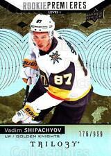 2017-18 UD Trilogy #75 Vadim Shipachyov