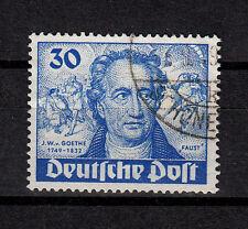 Berlin, Mi. 63, 30 Pfg. J. W. von Goethe, gestempelt, preisgünstig, siehe Scan(8