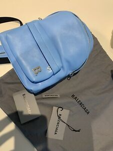 Balenciaga Mini Backpack Blue