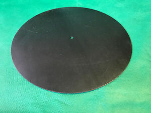 """Classic (For 8""""/200mm approx. Decks) Neoprene Rubber Turntable Mat 2mm Thick"""