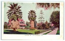 Early 1900s Figueroa Street, Los Angeles CA, Cal. Fruit Products Co. Ad Postcard