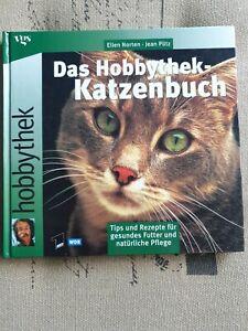 """☆ Buch """" Hobbythek - Katzenbuch"""" ~ gebraucht ☆"""