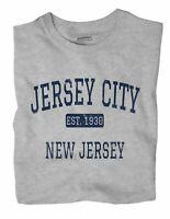 Jersey City New Jersey NJ T-Shirt EST