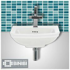 BRICK Glass Mosaic Tiles Bathrooms Kitchens Wall Floors SAMPLE 4B-101