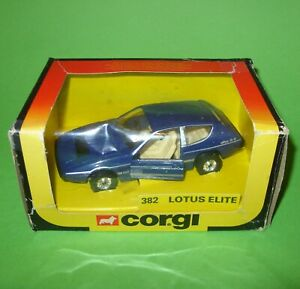 Corgi / 382 Lotus Elite Sports Car / Boxed
