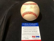 Payne Stewart Autographed Baseball, Single Signed   - PSA/DNA Authenticated