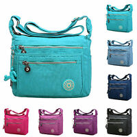 Womens Satchel Shoulder Over Bag Tote Messenger Crossbody Canvas Travel Handbag