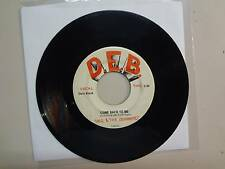 "DALE & THE DEVONAIRES: Come Back To Me-Will It Be Easy-U.S. 7"" 67 D.E.B. 7-8500"