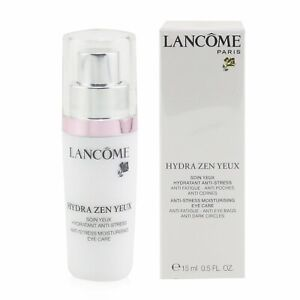 NIB Lancome Hydra Zen Yeux Anti-Stress Moisturizing Eye Care 0.5 fl. oz.