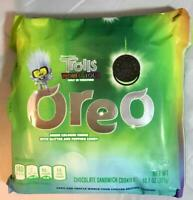 New! OREO Sandwich Cookies Green Colored Creme w/ Glitter Limited Edition