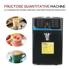 450W Commercial Electric Fructose Quantitative Machine 16 Grid Memory Buttons