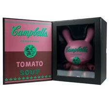 "Campbell's Soup 8"" Andy Warhol Masterpiece Dunny - Kidrobot Limited to 500 PCS"