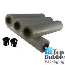 Clear 25um Cast Pallet Wrap - 4 Rolls Stretch Shrink Film SYDNEY FREE SHIPPING