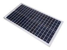 PANNEAU SOLAIRE POLYCRISTALLIN 30W 12V ENERGIE BATTERIE ALIMENTATION SOLAIRE