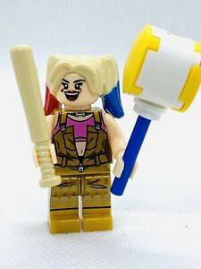 "Harley Quinn ""Batman Villain"" Custom Figure #8  ((US SELLER - FITS LEGOS))"