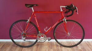 Vintage Casati Monza 60cm Columbus Campagnolo Veloce Steel Road Race Bike 700c