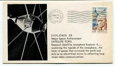 1964 Explorer 20 Major Space Achievmente Satellite Topsi Vandenberg AFB SPACE