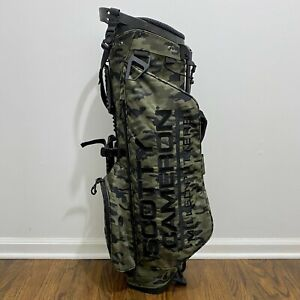 SCOTTY CAMERON Camo Wanderer Carry Bag Titleist Stand Staff Golf New