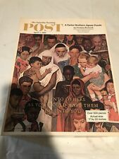 Saturday Evening Post April 1, 1961 Norman Rockwell Do Unto Others Complete