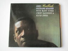 JOHN COLTRANE QUARTET . BALLADS . DIGIPACK CD