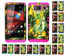 KoolKase Hybrid Cover Case for Motorola Droid Razr Maxx HD XT926m CAMO MOSSY 04