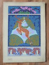 Aug. H. Thomas formes et couleurs art deco Jugendstil rareza