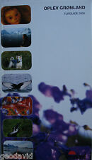 Oplev Gronland Turguide (Discover Greenland Tourguide) 2006 Danish Brand New