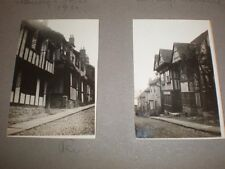 2 Old photographs of Rye 1932
