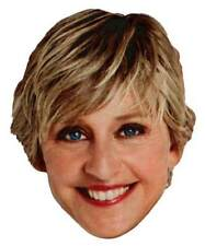 ELLEN DEGENERES The Ellen Show TV Star Full Head Window Cling Sticker Decal -NEW