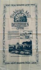 Vintage 'BICKLEIGH MILL' Devonshire Country Living Centre Cotton TEA TOWEL