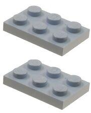 Missing Lego Brick 3021 SandBlue x 2 Plate 2 x 3