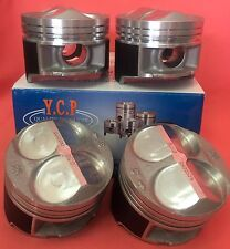 YCP B16 B18 81.5mm 020 (.50) JDM High Comp Pistons Acura Honda Civic SI Type R