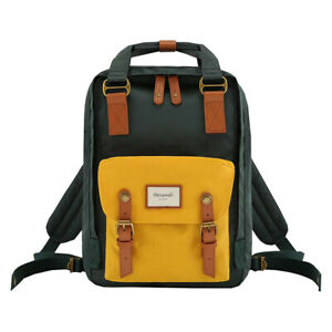 Himawari Backpack Bags School Office Casual Water Resistant Fashion New Green