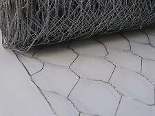 Chicken/Rabbit Wire Netting 1800mm x 50mm x 1.00mm x 50mtr 6Ft - High Quality